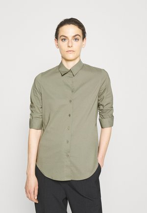 LIZA ESSENTIAL BLOUSE - Button-down blouse - frosty green