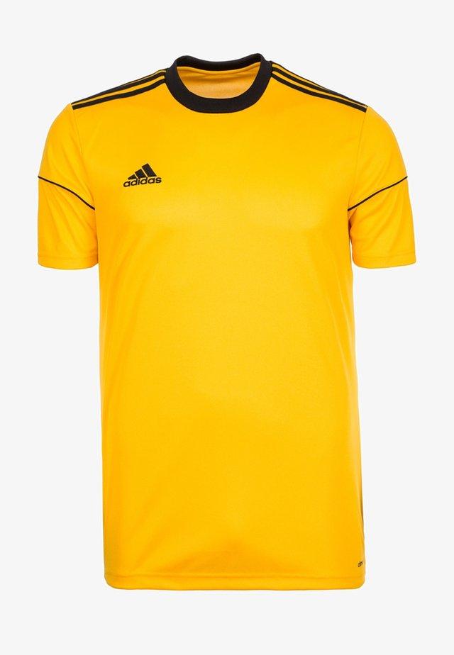 SQUADRA 17 FUSSBALLTRIKOT KINDER - T-shirt print - gold