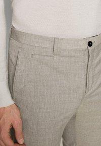 Viggo - OSTFOLD TROUSER - Trousers - grey - 5