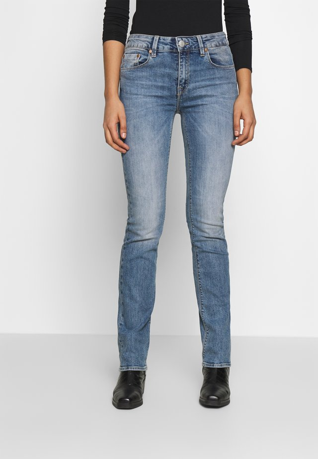 SUPER G STRAIGHT DENIM STRETCH - Jean droit - surfer blue