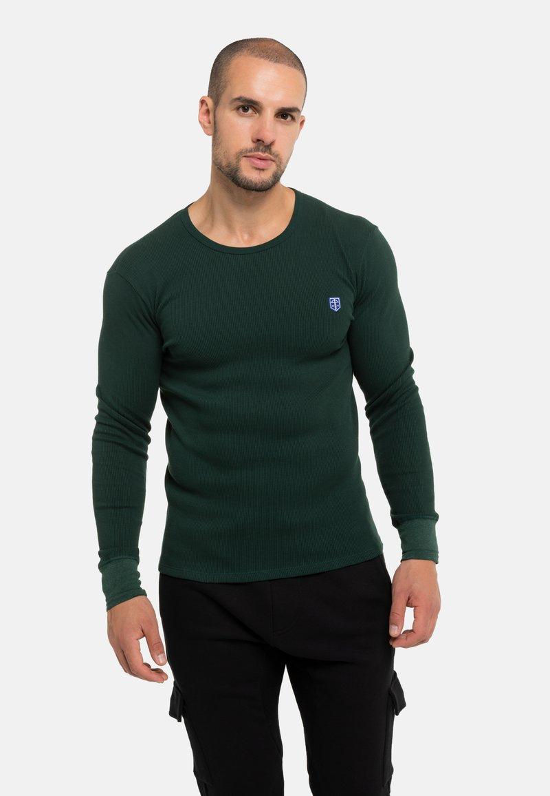 Schiesser Revival - FRIEDRICH - Long sleeved top - grün