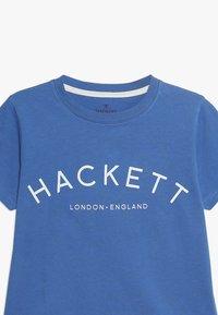 Hackett London - T-shirts print - blue - 3