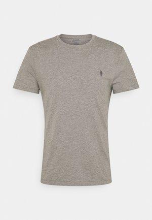 CUSTOM SLIM FIT JERSEY CREWNECK T-SHIRT - T-Shirt basic - metallic grey heather