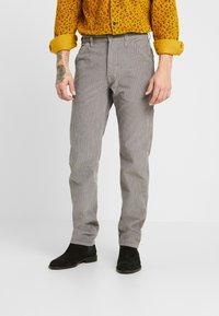 Levi's® - 502™ CARPENTER PANT - Kalhoty - steel grey - 0