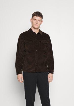 SLHLOOSEDECKER OVERSHIRT - Overhemd - demitasse