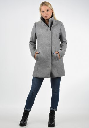 WOLLMANTEL WOLKE - Manteau court - light grey