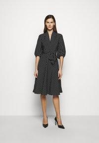 Lauren Ralph Lauren - Denní šaty - polo black/white - 1