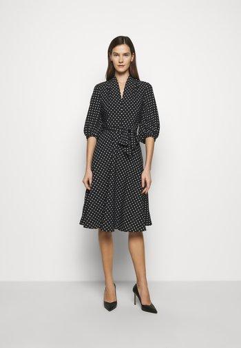 Day dress - polo black/white