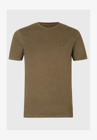 AllSaints - OSSAGE  - Basic T-shirt - dark green - 1
