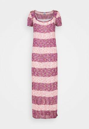 ABITO LUNGO - Pletené šaty - multi-coloured