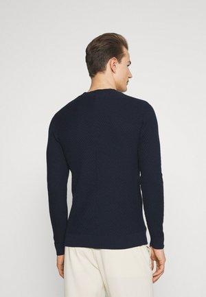 KARLO DIAGONAL  - Jumper - navy blazer