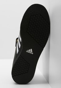 adidas Performance - POWER PERFECT 3 SHOES - Sports shoes - black/white/gold - 4