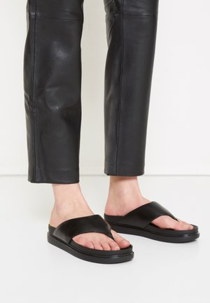 ERIN - T-bar sandals - black