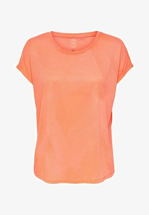 ONPFAN  - T-shirt imprimé - neon orange