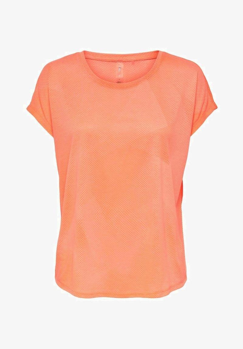 ONLY Play - ONPFAN  - Print T-shirt - neon orange