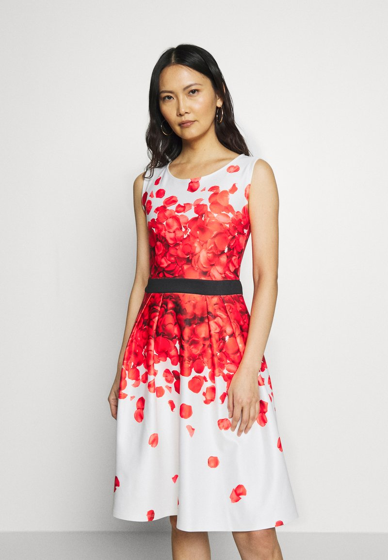 Anna Field - Cocktail dress / Party dress - white/red
