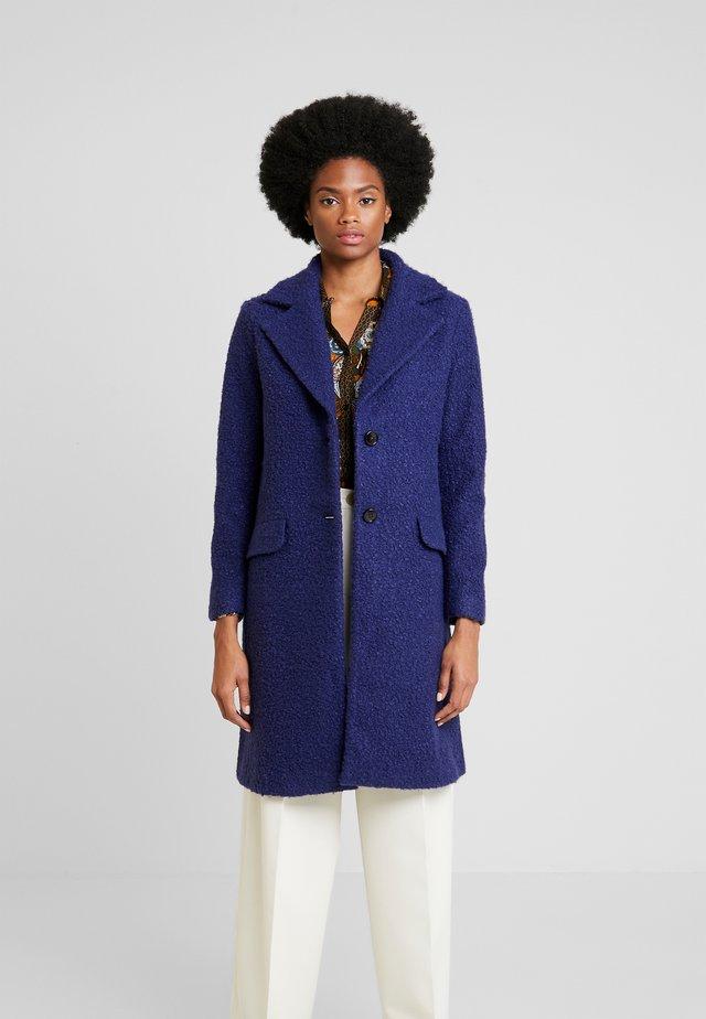 COAT - Classic coat - warm blue