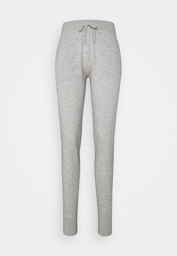 PANTS POCKETS - Tracksuit bottoms - light grey