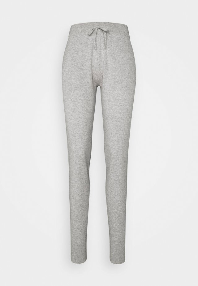 PANTS POCKETS - Tracksuit bottoms - light grey