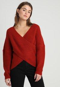 Even&Odd - Pullover - red - 0