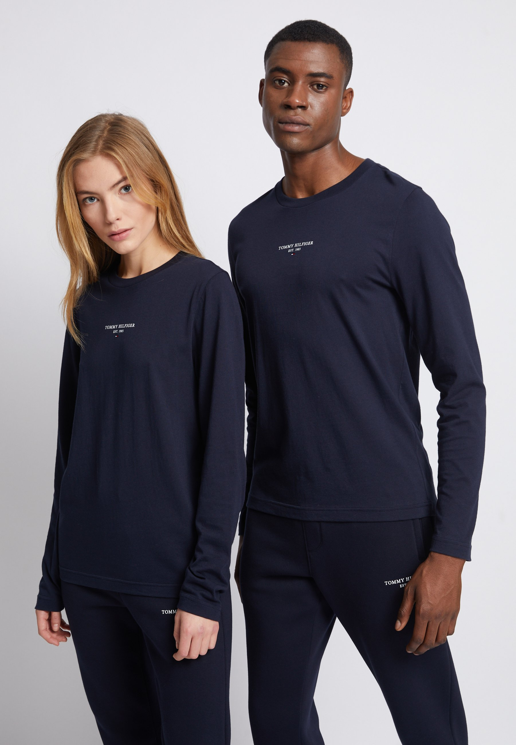 Men LOGO UNISEX - Long sleeved top