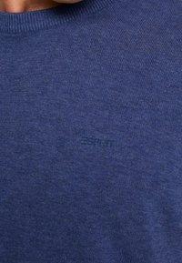 Esprit - CREW - Jumper - dark blue - 4
