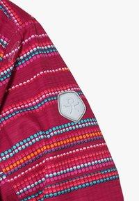 Color Kids - DONJA PADDED JACKET - Ski jacket - raspberry - 6