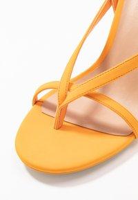 Call it Spring - ZELDAA - Sandalias de tacón - bright orange - 2