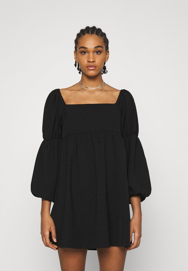 BIANCA DRESS - Korte jurk - black