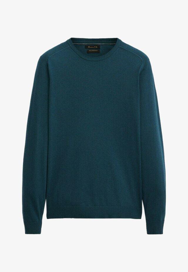 Sweatshirt - teal