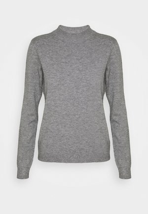 OBJTHESS - Jumper - medium grey melange