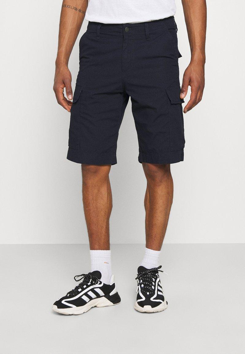 Carhartt WIP - REGULAR CARGO COLUMBIA - Shorts - dark navy rinsed