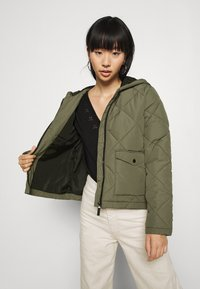 Noisy May - NMFALCON - Light jacket - dusty olive/black - 3