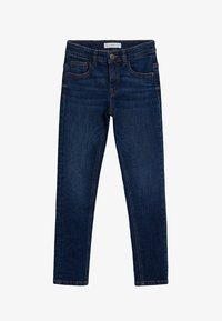 Mango - SLIM - Slim fit jeans - blu scuro - 0