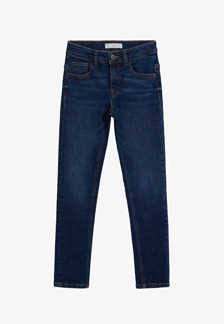 Mango - SLIM - Slim fit jeans - blu scuro