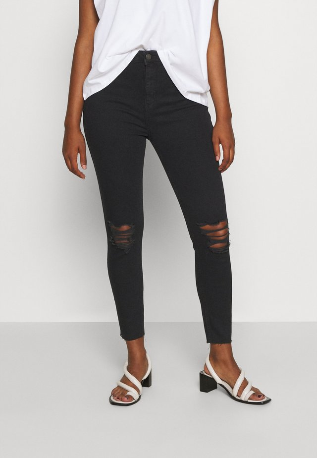 DISCO MAX - Jeansy Skinny Fit - black