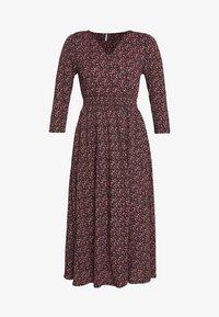 ONLY - ONLPELLA DRESS - Denní šaty - black/route ditsy - 5