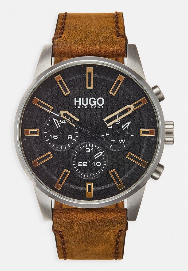 HUGO - SEEK - Hodinky - brown