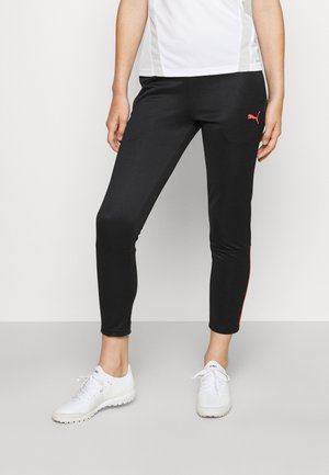 INDIVIDUALLIGA WOMEN TRAINING PANTS - Spodnie treningowe - black/sunblaze