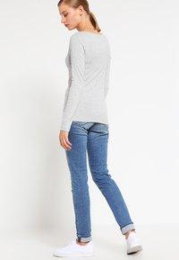GAP - BOAT - Long sleeved top - heather grey - 2
