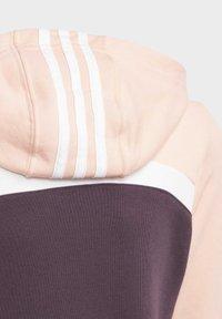 adidas Performance - HOODED COTTON TRACKSUIT - Trainingspak - purple - 8