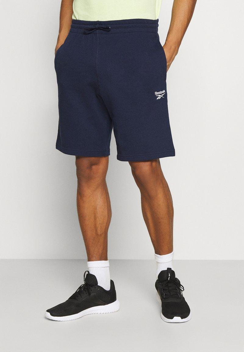 Reebok - SHORT - Sports shorts - navy
