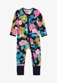 Bonds - ZIP WONDERSUIT BABY - Overall / Jumpsuit /Buksedragter - navy - 2