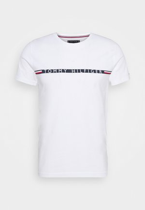 MINI STRIPE - T-shirt imprimé - white