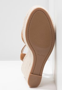 ALDO - YBELANI - High heeled sandals - light brown - 6