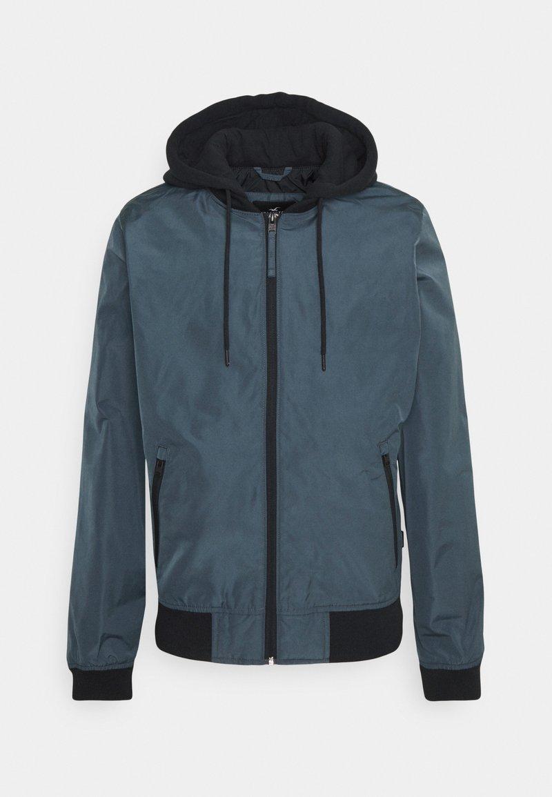 Hollister Co. - BOMBER - Summer jacket - navy