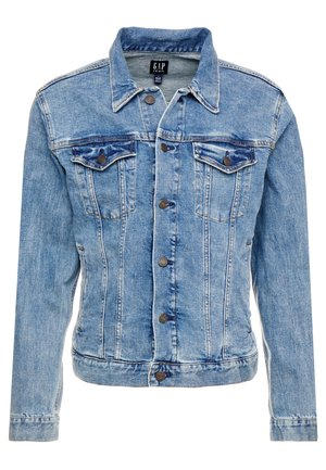V-DENIM ICON CALM - Denim jacket - medium worn