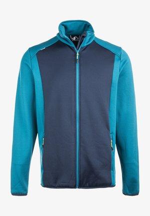 FRED M - Fleece jacket - blue coral