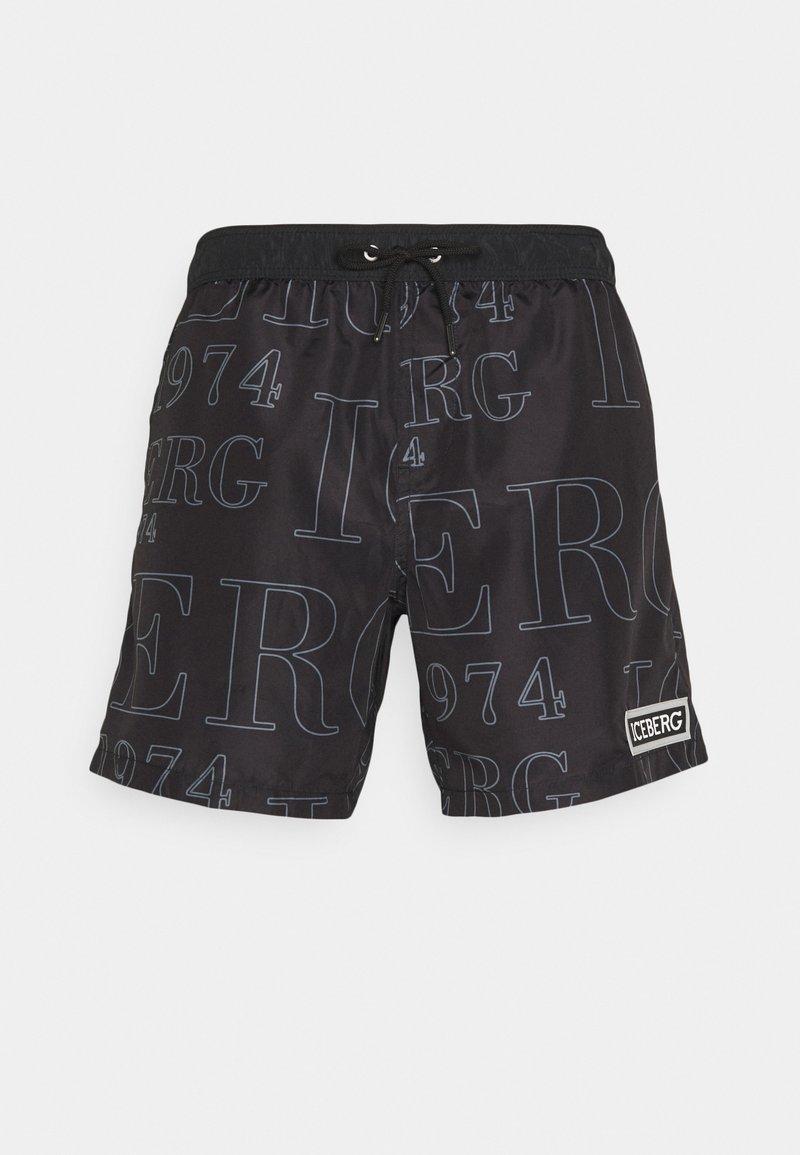 Iceberg - MEDIUM - Swimming shorts - black
