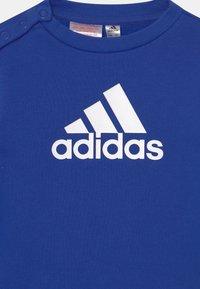 adidas Performance - LOGO SET UNISEX - Chándal - bold blue/medium grey heather/white - 3
